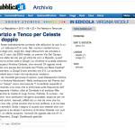 La Repubblica - Premio Via Del Campo