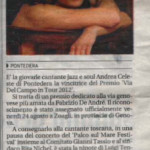 Il Tirreno - Premio Via Del Campo