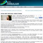 Segnalazione sul sito Zimbalam